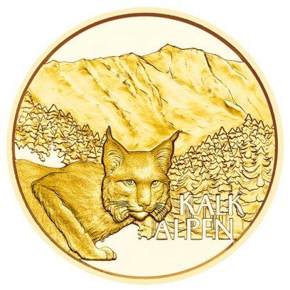 50 Euro Österreich Im tiefsten Wald 2021 Gold PP