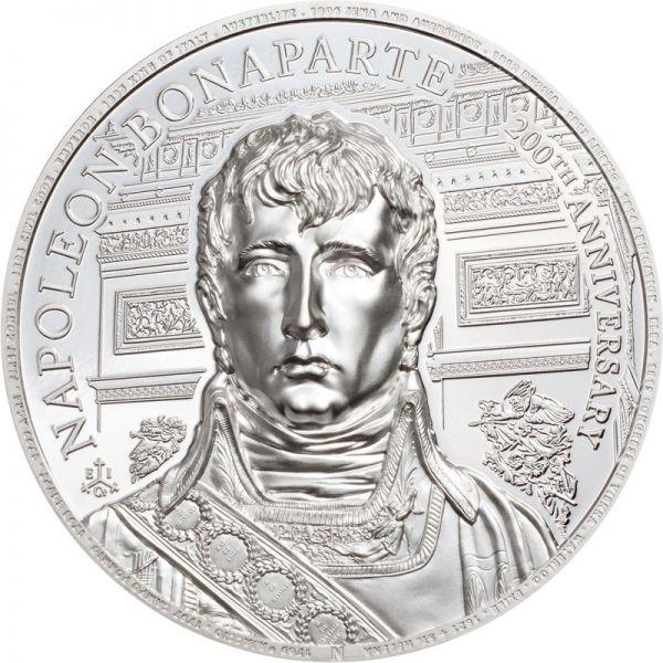 2 Pfund St. Helena 200 Td. Napoleon Bonaparte 2021 Silber PP