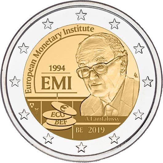 "2 € Belgien ""25 Jahre EMI"" 2019 CN St -Blister-"