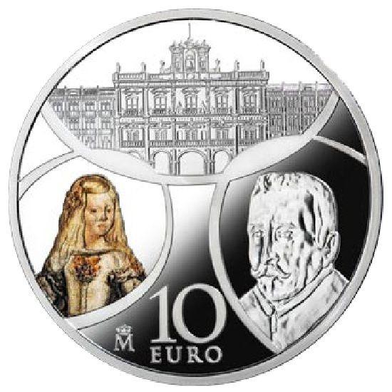 "10 Euro Spanien ""Barock & Rokoko"" 2018 Silber PP (Eurostern)"