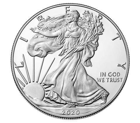 1 Dollar USA Silber Eagle 2020 Silber PP