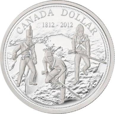 1 $ 200 J. Krieg v. 1812 gegen die amerik. Invasion 2012 Ag St