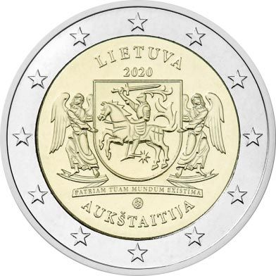 2 Euro Litauen Aukstaitja 2020 CN bfr