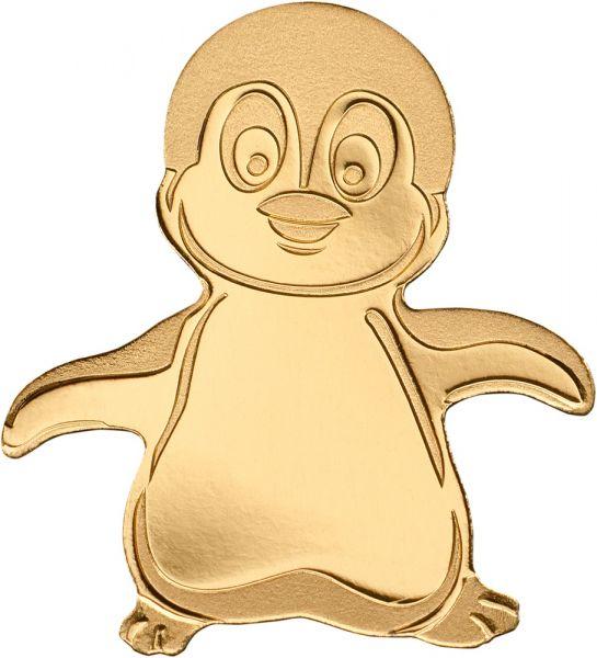 "1 $ Palau ""Emperor Pinguin"" 2018 Gold St"