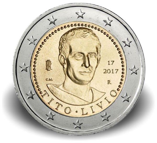 """2 € Italien """"2000. Todestag von Titus Livius"""" 2017 CN bfr"""