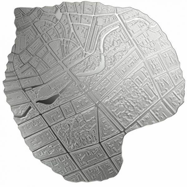 5 Euro Lettland Lindenblatt 2020 Silber PP
