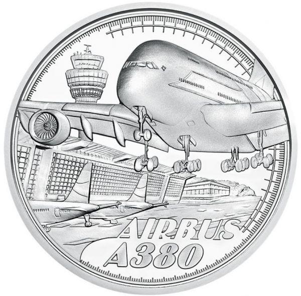 20 Euro Österreich Reisen über den Wolken 2020 Silber PP