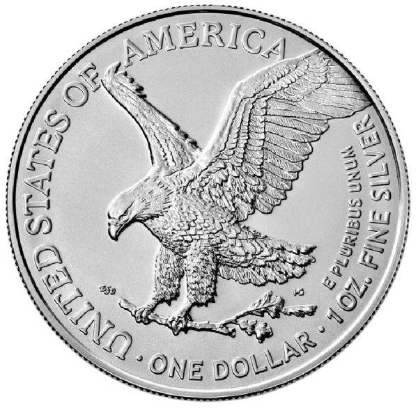 1 Dollar USA Silver Eagle 2021 1oz Silber St NEU