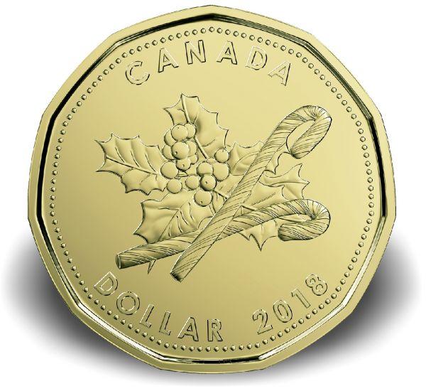 """3,40 $ Kanada """"Weihnachtssatz"""" 2018 CN St"""
