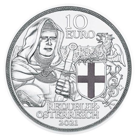 10 Euro Österreich Brüderlichkeit 2021 Silber PP