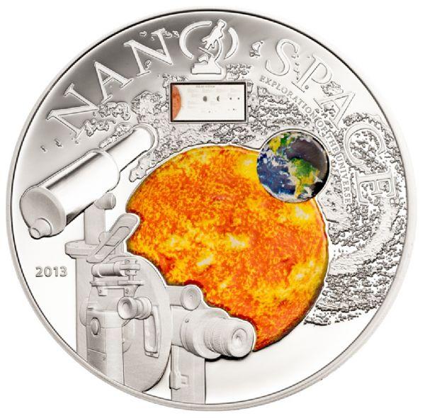 "10 $ Cook Island ""Nano Space"" 2013 Ag PP"