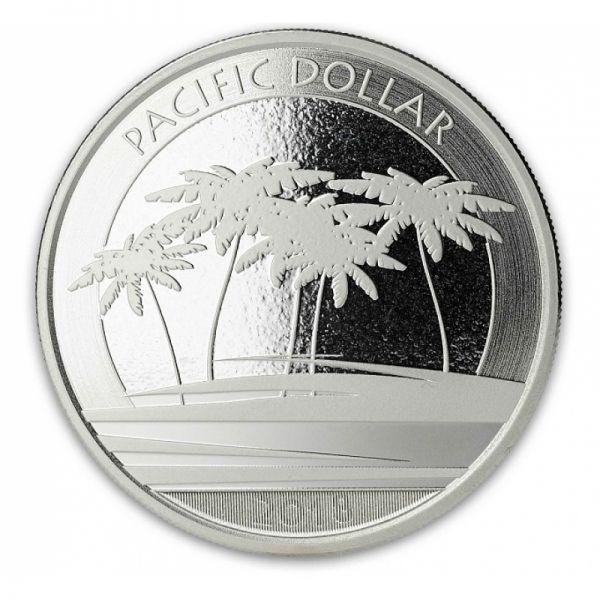 "1 Dollar Fiji ""Pacific Dollar"" 2018 Silber St"