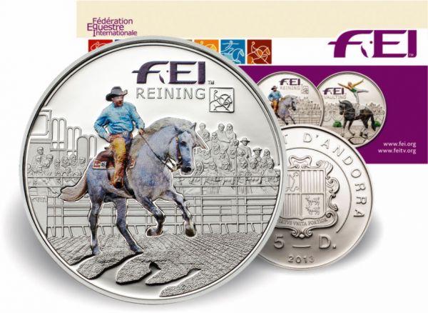 "5 Diners Andorra ""FEI - Reining"" 2013 Ag PP"