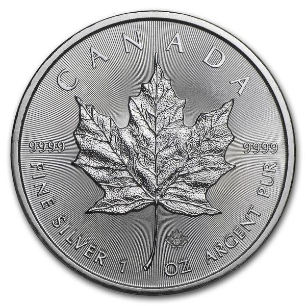 5 Dollar Kanada Maple Leaf 2021 1oz Silber St