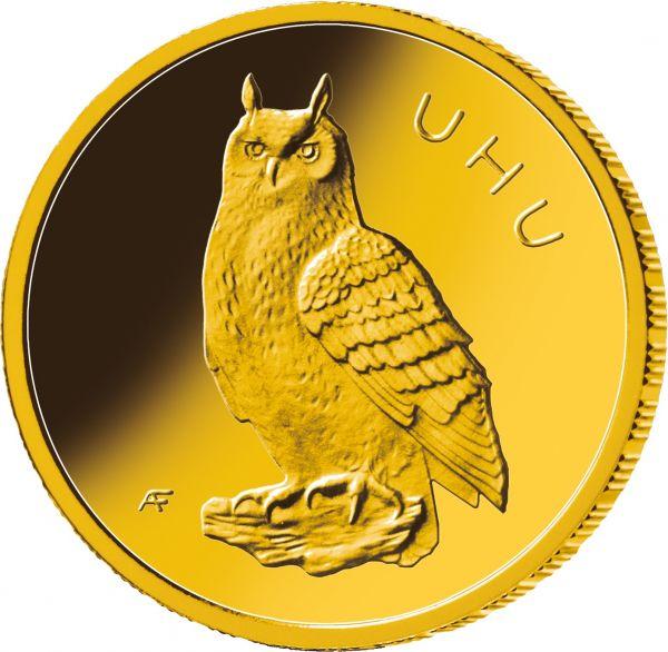 20 De Eule Uhu 2018 Gold St 18oz A Deutscher Münzexpress
