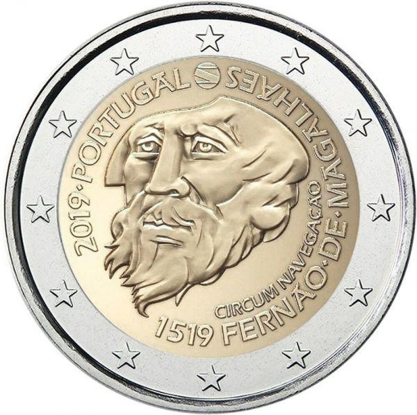 """2 € Portugal """"Ferdinand Magellan"""" 2019 CuNi bfr"""