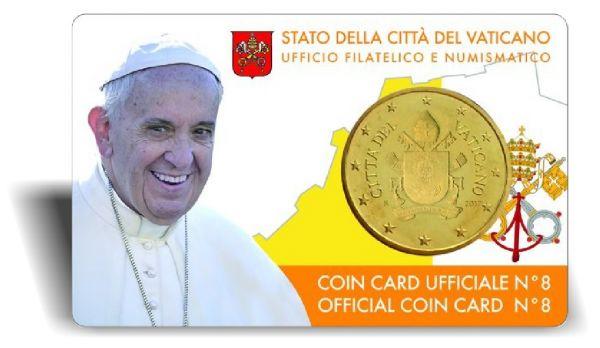 50 Ct. Vatikan Coincard #8 2017 CN vz