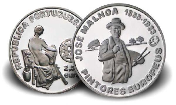 "2,50 € Portugal ""José Malhoa"" 2012 Silber PP"