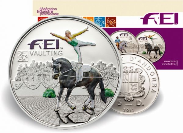 "5 Diners Andorra ""FEI - Vaulting"" 2013 Ag PP"