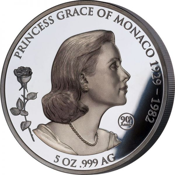 10 Dollar Samoa - Prinzessin Grace Kelly 2019 Silber BP