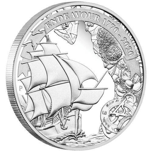 1 Dollar Australien Endeavour - Voyage of Discovery 2020 Silber PP