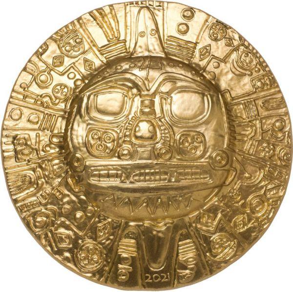 5 Dollar Palau Inka Sonnengott 2021 Silber SF