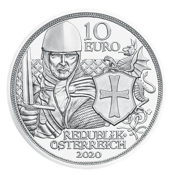 10 Euro Österreich Tapferkeit 2020 Silber hgh