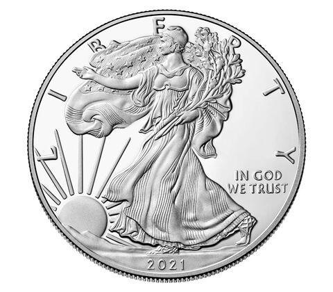 1 Dollar USA Silver Eagle 2021 Silber PP