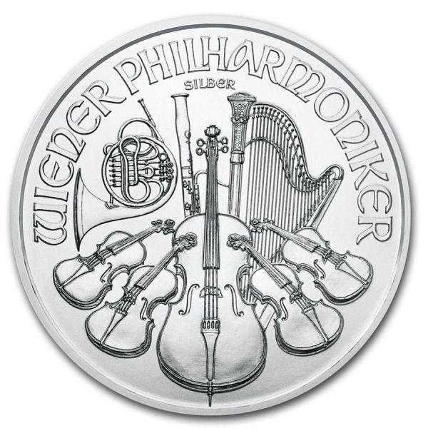 1,50 Euro W.Philharmoniker 2020 1oz Silber St