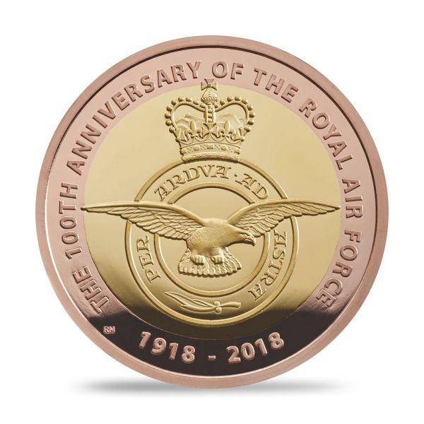 """2 £ Großbrit. """"Royal Air Force - Emblem"""" 2018 Gold PP"""