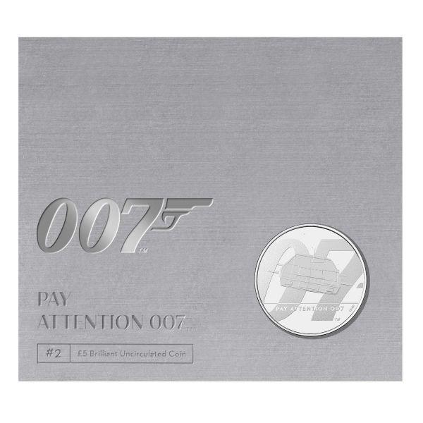 5 Pfund GB James Bond - Lotus Unterseeboot 2020 Cuni St #2
