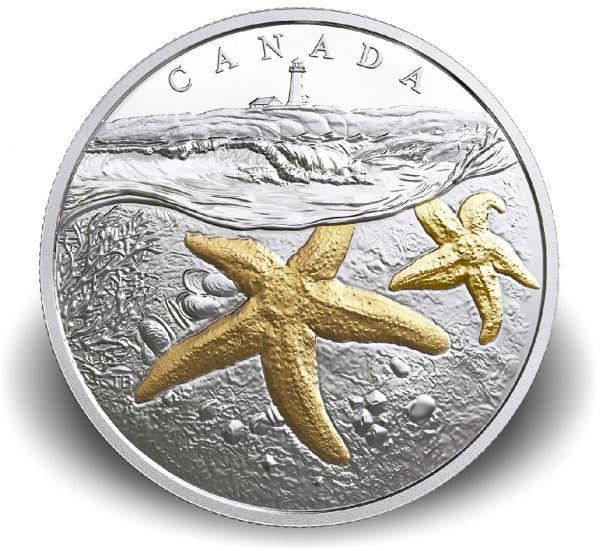 """20 $ Kanada """"Atlantik Seestern"""" 2017 Ag PP"""