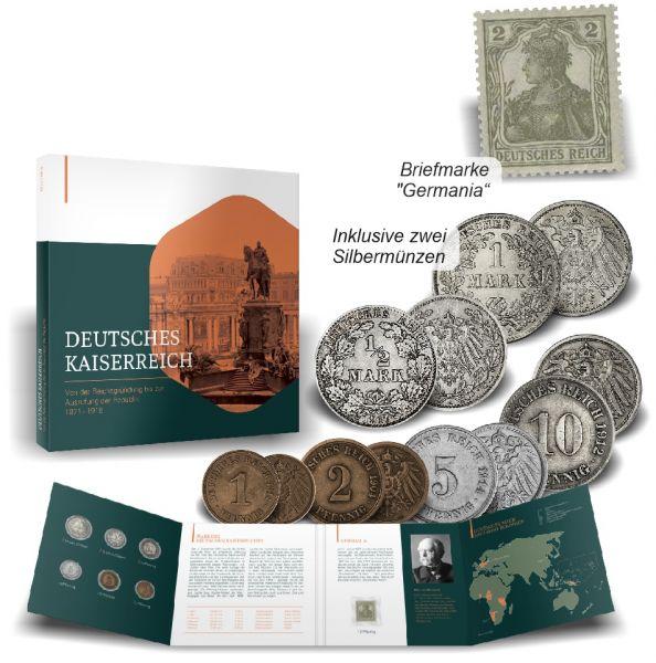 150 Jahre Deutsches Kaiserreich Kollektion im Folder
