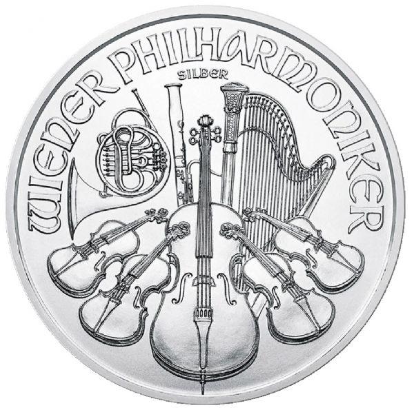 1,50 € W.Philharmoniker 2018 1oz Ag St