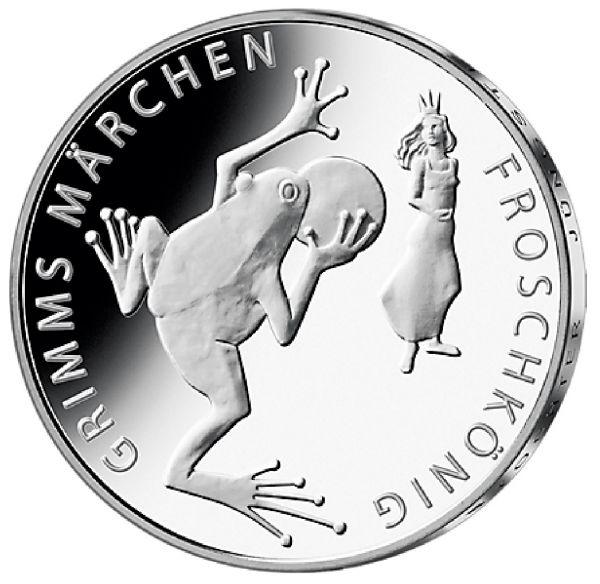 """20 € DE """"Froschkönig"""" 2018 Ag St -F-"""