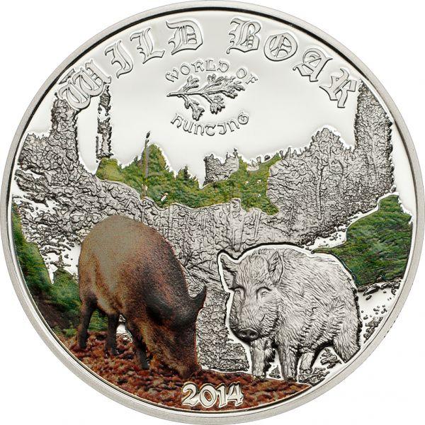 "2 $ Cook Island ""Wild Boar"" 2014 Ag PP"