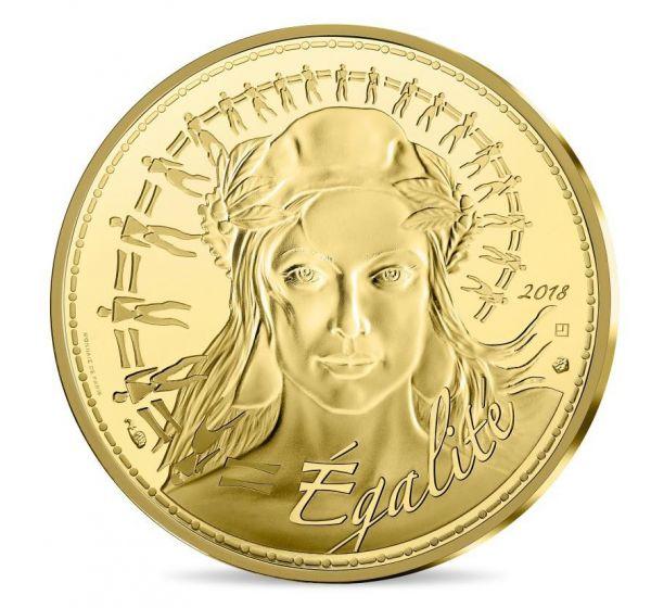 """250 € Frankreich """"Marianne"""" 2018 Au St"""