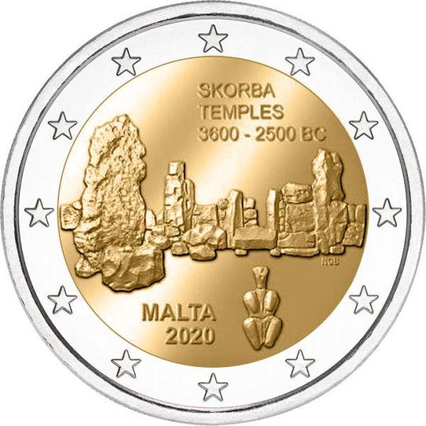 2 Euro Malta Ta Skorba 2020 CN bfr