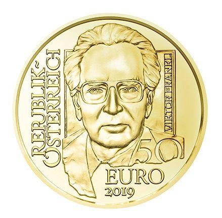 "50 € Österreich ""Viktor Frankl"" 2019 Gold PP"