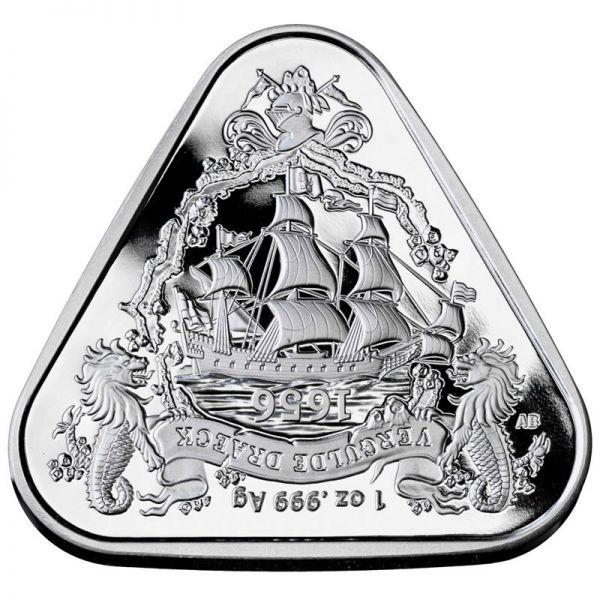 1 Dollar Australien Gilt Dragon 2020 1oz Silber St
