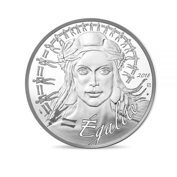 "20 € Frankreich ""Marianne"" 2018 Ag PP"