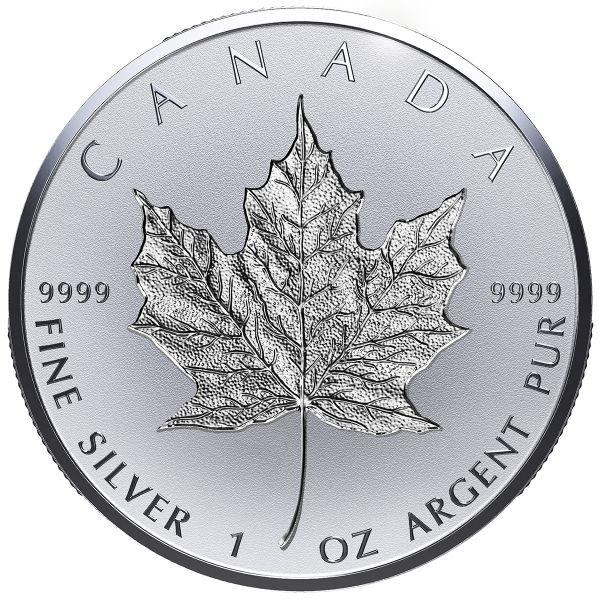"20 $ Kanada ""Maple Leaf - Incuse"" 2018 Silber PP"