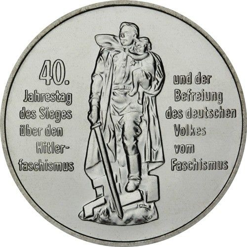10 Mark DDR 40 Jahre Befreiung 1985 Cn St