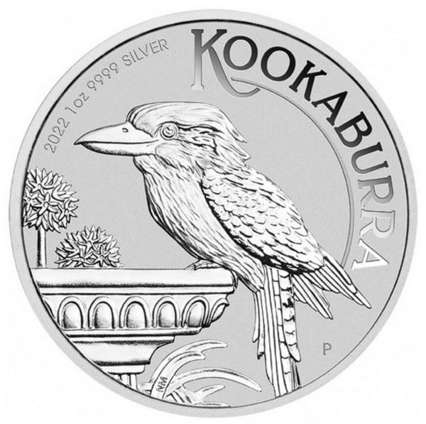 1 Dollar Australien Kookaburra 2022 1oz Silber St