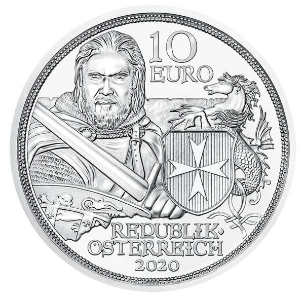 10 Euro Österreich Standhaftigkeit 2020 Silber hgh