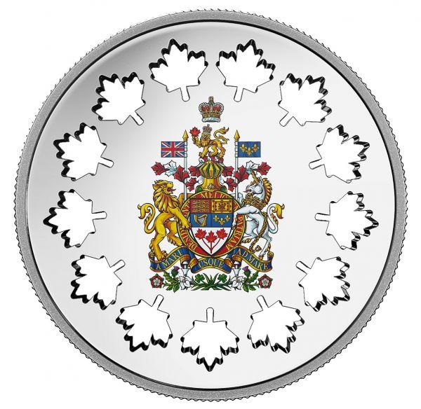 """30 $ Kanada """"Die Entwicklung einer Nation"""" 2018 Silber PP"""