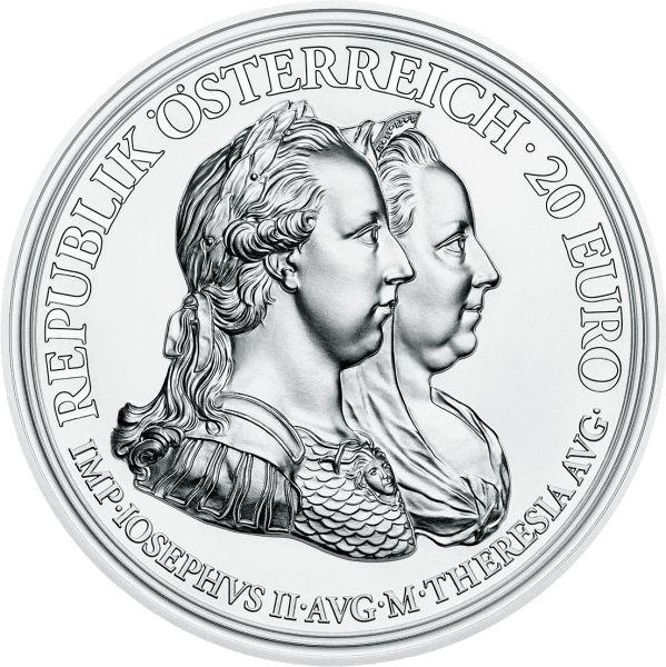 "20 € Öster. ""Maria Theresia - Weisheit u. Reformen"" #4 2018 Silber PP"