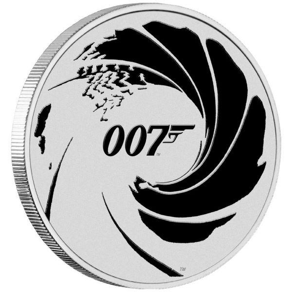 1 Dollar Tuvalu James Bond 007™ 2022 Silber St