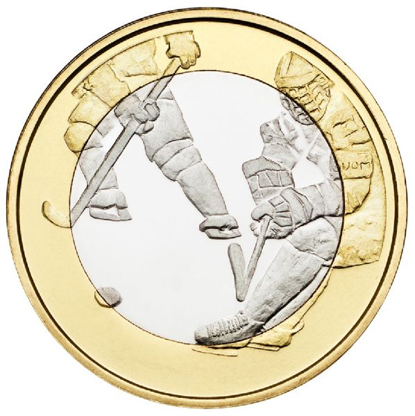 "5 € Finnland Sportserie ""Eishockey"" 2016 CN St"