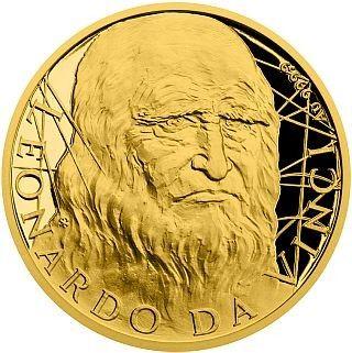 "25 $ Niue ""Leonado Da Vinci"" 2019 Gold PP"